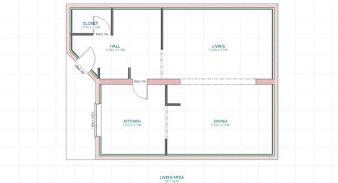 maison 2 chambres cuisine meurtrier plan simple maison plan de maison