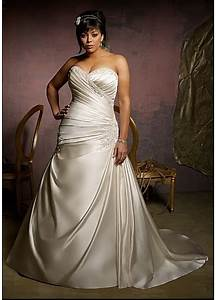 Plus size wedding dress for Dressilyme wedding dress