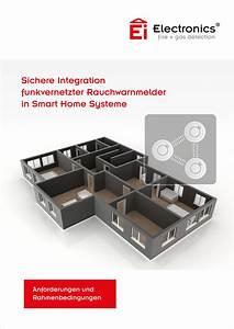 Smart Home Systeme Nachrüsten : ei electronics rauchwarnmelder in smart home systeme ~ Articles-book.com Haus und Dekorationen