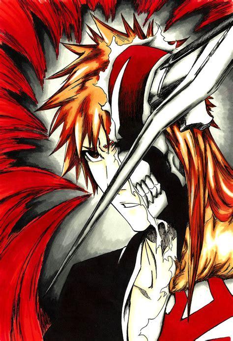 Kurosaki Ichigo Hollow By Madaboutvampires On Deviantart