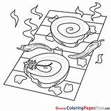Grill Colouring Coloring Sheet Sheets Title sketch template
