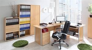 H C Möbel : b ro arbeitszimmer 5 teilig smallset buche natur h c m bel ~ Watch28wear.com Haus und Dekorationen