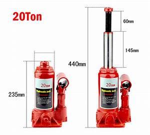 20 Ton Hydraulic Bottle Jack Autos Emergency Hoist Lift
