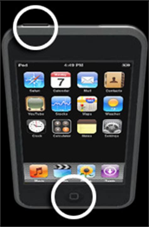 how to unfreeze an iphone how to reset or unfreeze an ipod nano ipod touch ipod