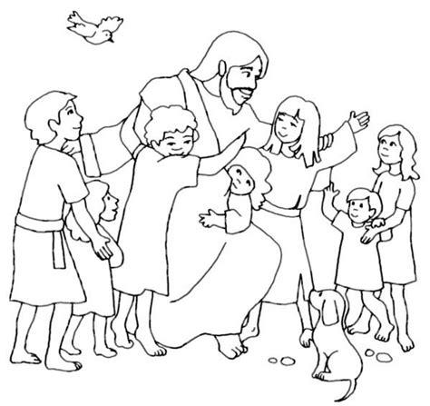 jesus loves  coloring book