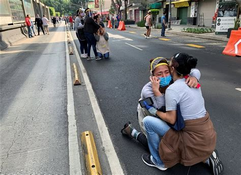 The event parameters (hypocenter, time and magnitude) are determined using incoming data from the philippine seismic network. Powerful 7.4-magnitude earthquake rocks Mexico; at least six people dead