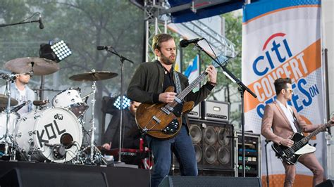 Watch Kings Of Leon Perform 'waste A Moment' Live On Today