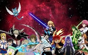 The Rosette Nebula Anime - Background by ...