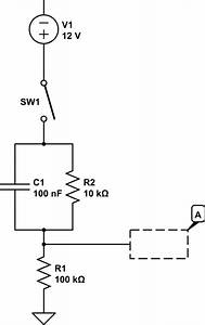 contact bounce simple debounce rc circuit question With simple rc circuit