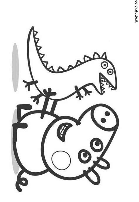 disegni on line da colorare peppa pig peppa pig 4 disegni per bambini da colorare