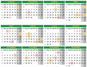 Feriados 2018 Calendário