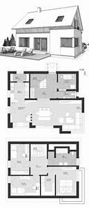 Haus Bauen Ideen Grundriss : modernes einfamilienhaus mit satteldach holzfassade 4 ~ Orissabook.com Haus und Dekorationen
