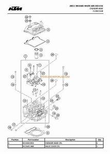 Ktm Duke 390 Parts List  U0026 Diagram