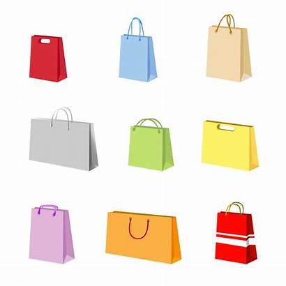 Bag Vector Shopping Bags Clipart Handbags Clip