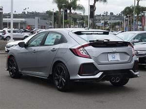 New 2018 Honda Civic Hatchback Sport Manual Sedan In