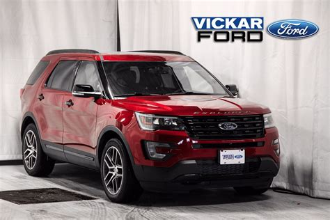 2017 Ford Explorer Sport by New 2017 Ford Explorer Sport Ruby Tinted C C Met