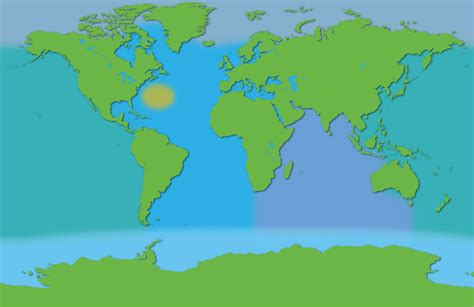 world map  oceans  seas  travel information