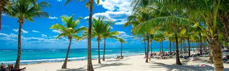 fondos de pantalla playa mar palmeras tropical nubes