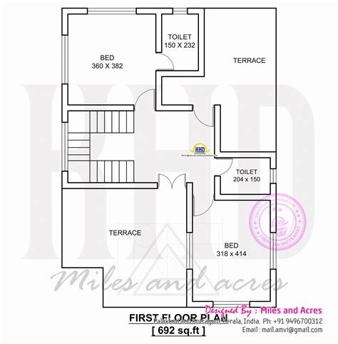 house planner 1767 square house plan kerala home design and floor