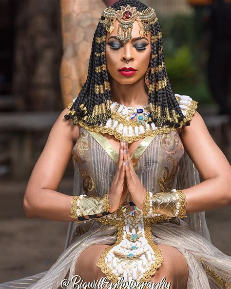 Queen Cleopatra👑! TBoss unveils Alter Ego in New Photos ...