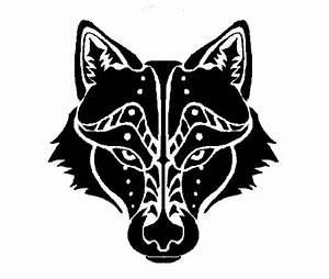 Wolf Head Tribal Tattoo by Canyx on DeviantArt