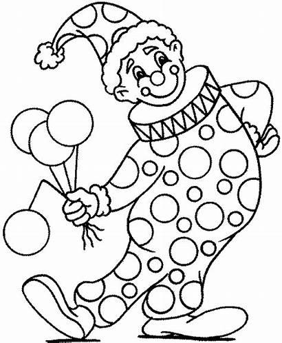Clown Gommettes Notre Coloring Clowns Partager