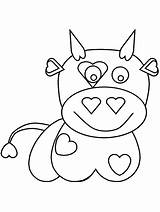Coloring Pages Cow Games Cows Printable Valentines Cliparts Baby Milk Sheets Bowling Valentine Give Getcoloringpages Calm Creative Lot Painting Know sketch template