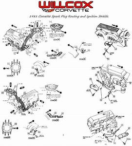 1981 Corvette Spark Plug Wire Routing And Ignition Shield