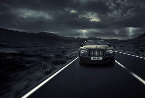 Rolls Royce Give The Black Badge Treatment To The Dawn