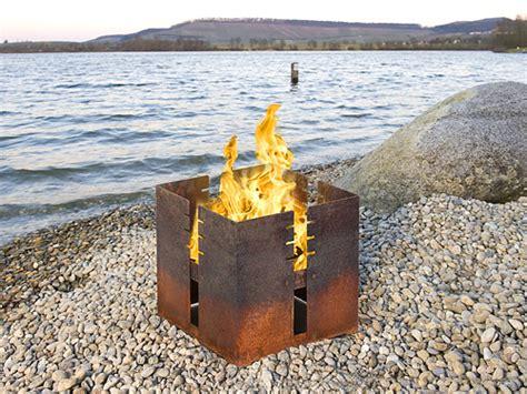 Feuerkorb  Lagerfeuerromantik Im Garten