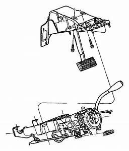 Dodge Durango Link  Steering  Steering Column Park Inhibit