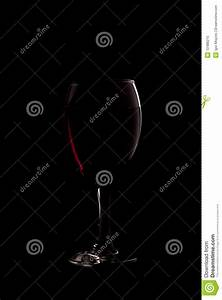 Red Wine On Black Background Royalty Free Stock Photo ...