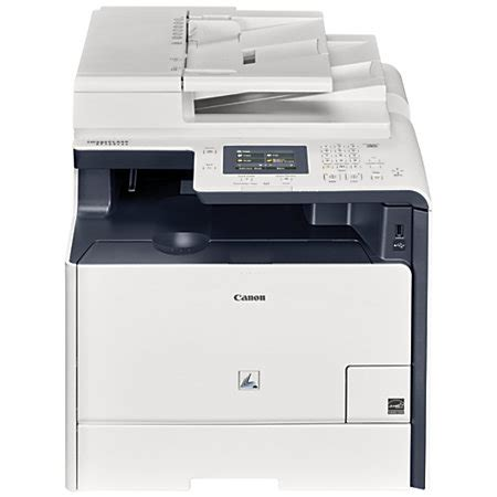 office depot color printing canon imageclass mf729cdw color laser all in one printer
