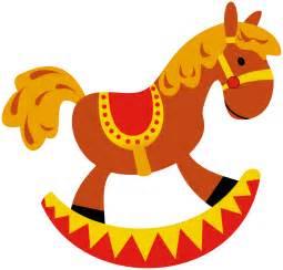 Toy Rocking Horse Clip Art