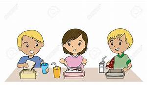 Lunch clipart kids eat - Pencil and in color lunch clipart ...