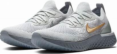 Nike Shoes Running Flyknit React Epic Gray