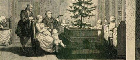 luthers christmas tree martin luther s influence on traditions and markets