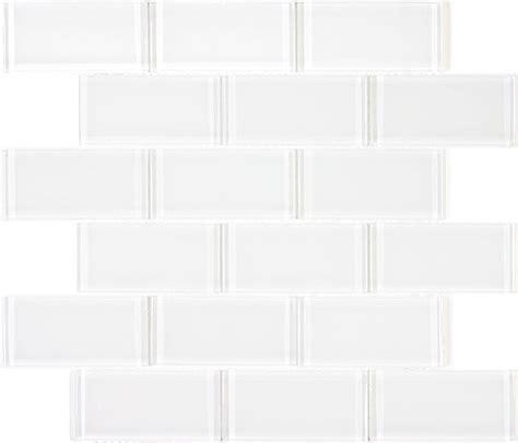 white glass subway tile supreme glass tile brick subway tiles true white contemporary tile by my tile backsplash