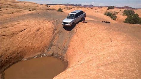range rover  hells revenge moab offroad gopro youtube