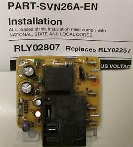 Rly02807 American Standard Trane Air Handler Fan Time