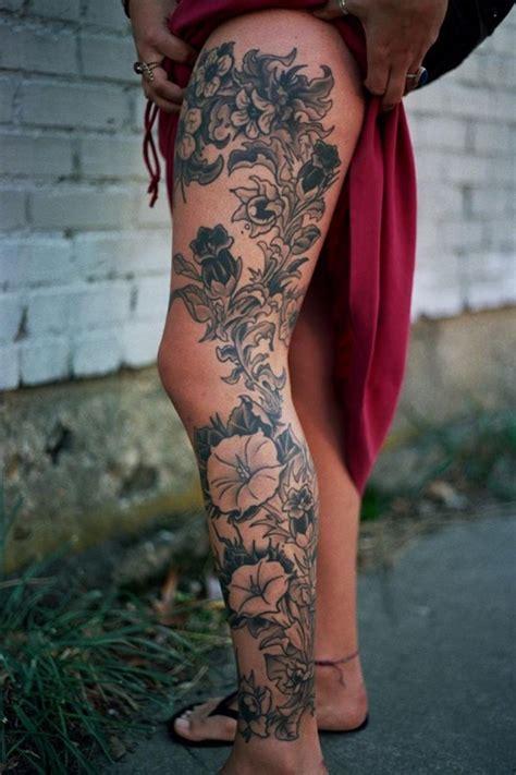 idees tatouage jambe faites vous en de belles en