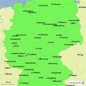 Schönsten Städte Deutschland : deutschland gro e st dte von balbrecht landkarte f r deutschland ~ Frokenaadalensverden.com Haus und Dekorationen