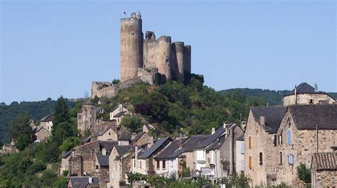 Najac France First Built In 1100 Najac Is Placed On A