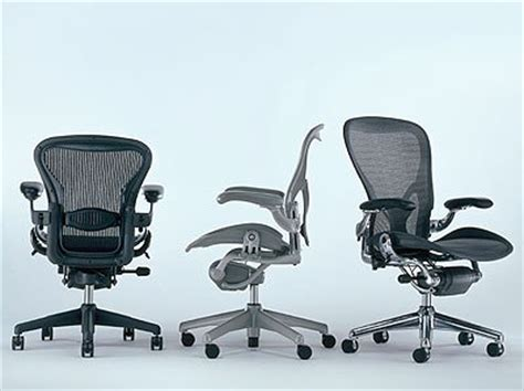 aeron chair by herman miller highly adjustable
