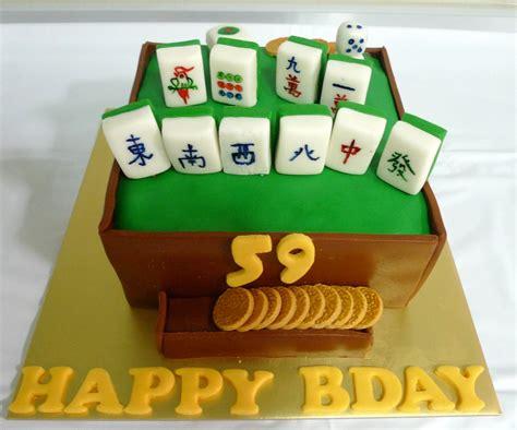mahjong cake sherbakes