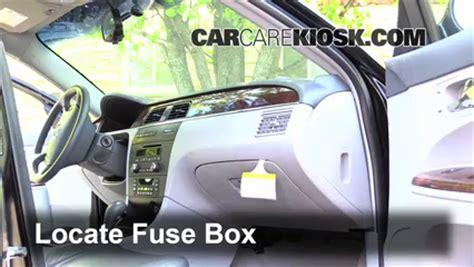 2006 Buick Lacrosse Fuse Box by Interior Fuse Box Location 2005 2009 Buick Lacrosse