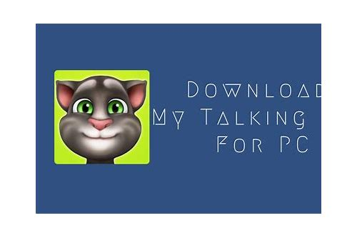 talking tom free download for windows