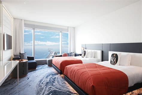 W Hotel Bed by Hotel Rooms Amenities W Barcelona