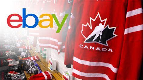 Hockey Canada And Ebay.ca Offer Hockey Fans Chance To Bid