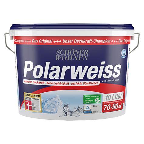 Polarweiss Schöner Wohnen by Sch 246 Ner Wohnen Polarwei 223 Wei 223 10 L Matt Bauhaus